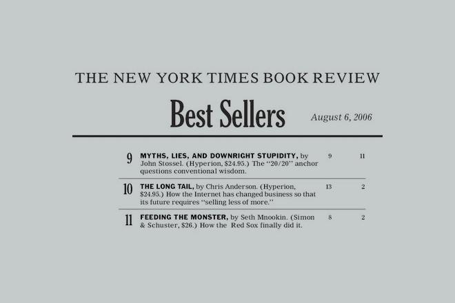 Иронично: Бестселъри на Ню Йорк Таймс.
