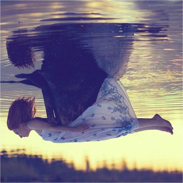 Концептуална фотография: Цикъл фобии - Аерофобия