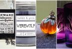 19 декорации Хелоуин