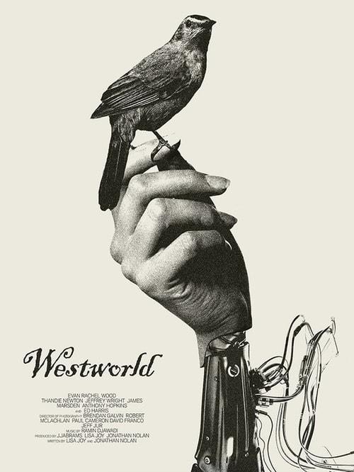 Westworld постер - птица