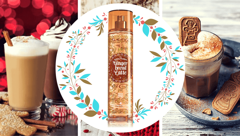 Gingerbread Latte - спрей за тяло на Bath & Body Works