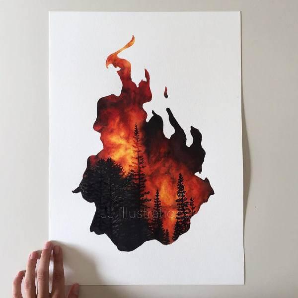 Пламък - огън