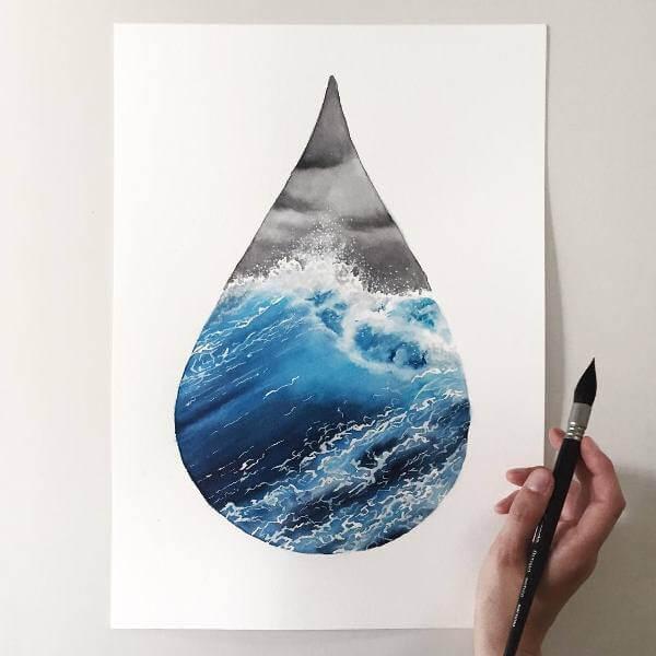 Капка - вода