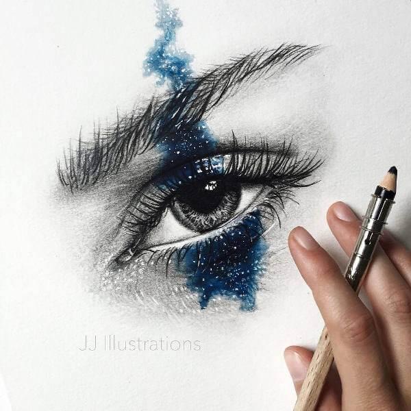 Изображение на око